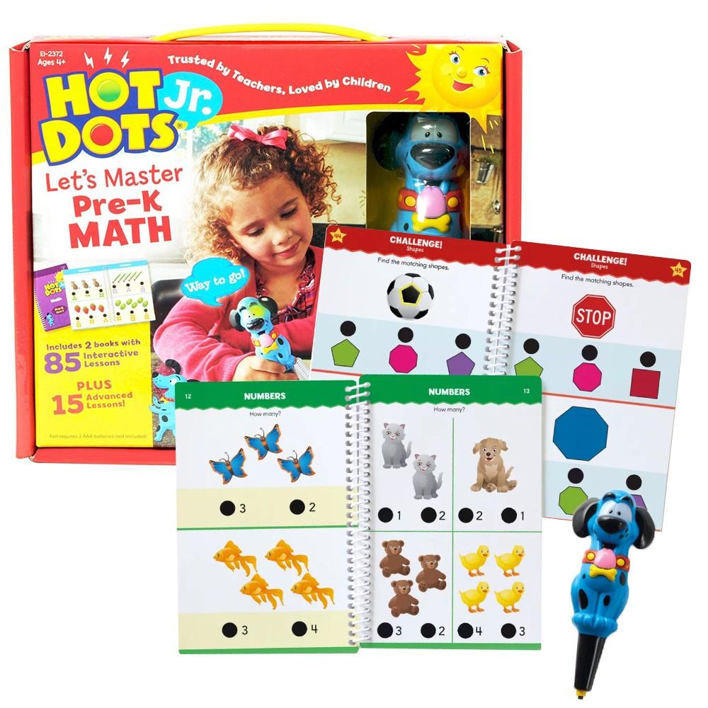 Hot Dots Jr. Lets Master Pre K Math Set With Ace