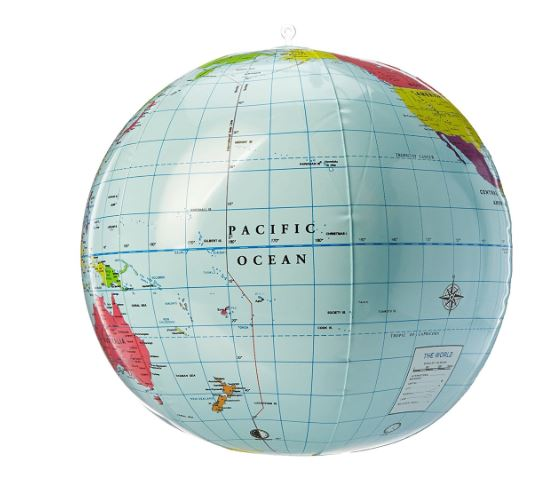 Inflatable World Globe 1
