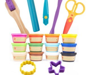 Jarmelo Dough And Modeling Tool Set 12 Col