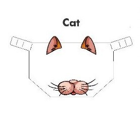 Kiddies Animal Design Shields Cat