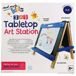 Kids Tabletop Art Station – Blue