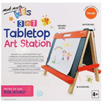 Kids Tabletop Art Station – Orange