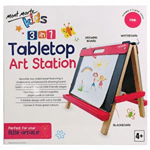 Kids Tabletop Art Station – Pink