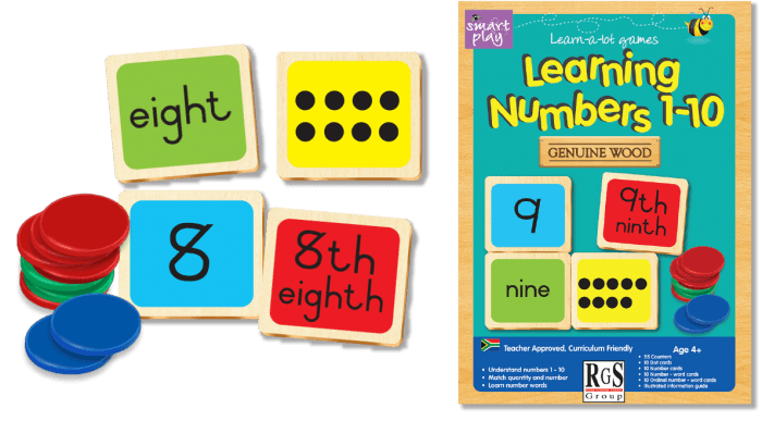 Learning Numbers RGS