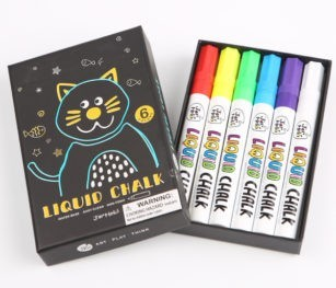 Liquid Chalk Markers 6 Colours 1