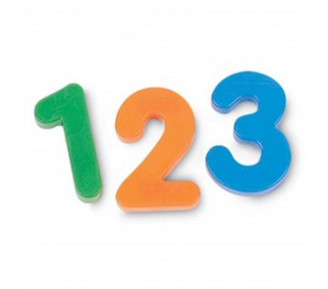 Magnetic Numbers (62pc)