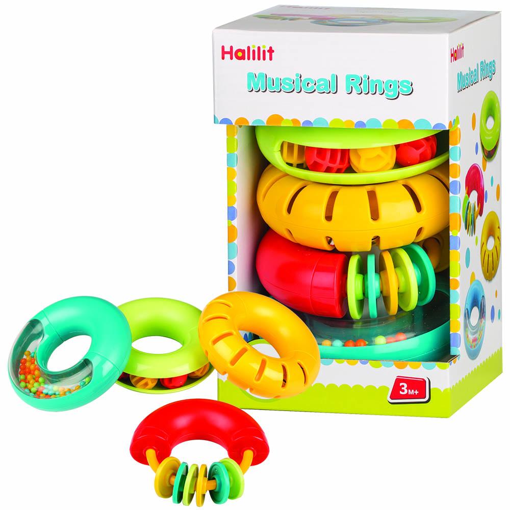 Musical Rings Gift Set Of 4 (ha Mp8888wb)