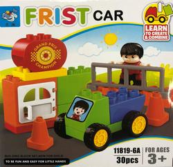 My First Car Building Block Kit