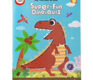 My First Dot To Dot Drawing Book Super Fun Dinosaurs 1