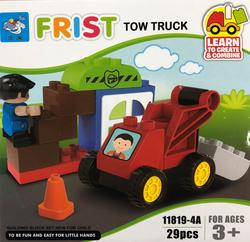 My First Tow Truck Building Block Kit