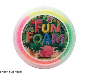 Neon Fun Foam