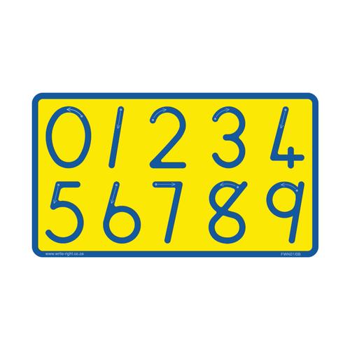 Number Board (big 0 9) Std