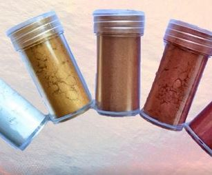 Pearlescent Powder Metallic