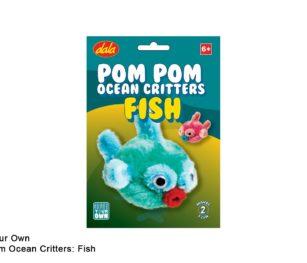 Pom Pom Ocean Critters Fish
