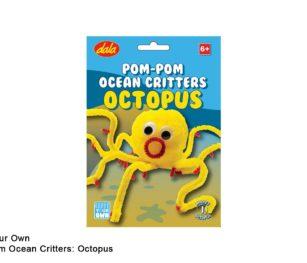 Pom Pom Ocean Critters Octopus