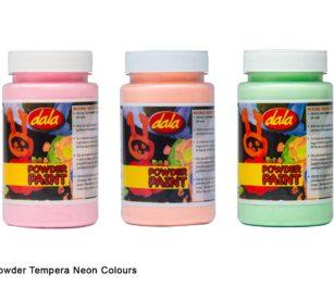Powder Tempera Neon Colours 200g