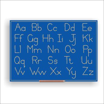 Print Alphabet Boards (capital & Lower) Std No Line