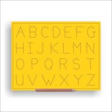 Print Alphabet Boards (capital Letters) Alt No Line