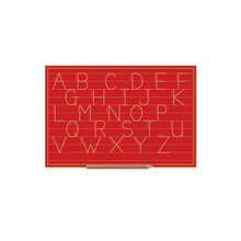 Print Alphabet Boards (capital Letters) Std W Line