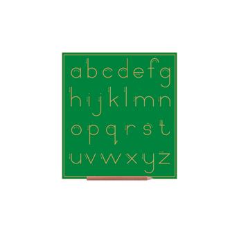 Print Alphabet Boards (lower Case Letters) Std No Lines