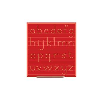 Print Alphabet Boards (lower Case Letters) Std W Lines