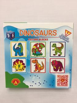 Puzzle Blocks Dinosaurs