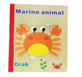 Puzzle Book Marine Animals