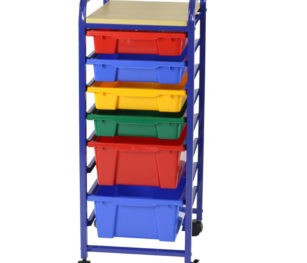 Roll & Storage Unit 6 Bin Flat