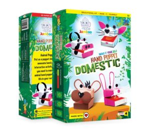 Hand Puppet Domestic (pack Of 4)