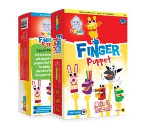 Finger Puppet (pack Of 6)