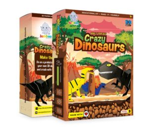 Crazy Dinosaurs (pack Of 3)