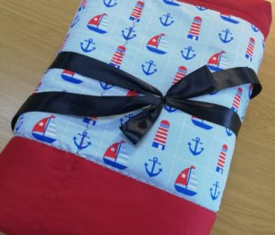 Sail Boats Weighted Blanket