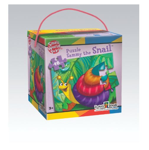 Sammy The Snail 16 Piece Puzzle