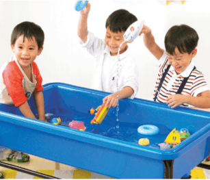 Sand Water Tray Cm Blue