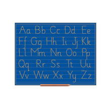 Sassoon Alphabet Boards Capital And Lower Case Letters (lines)