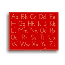 Sassoon Alphabet Boards Capital And Lower Case Letters (w Lines)