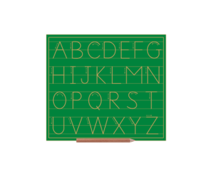 Sassoon Alphabet Boards Capital Letters (lines)