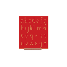 Sassoon Alphabet Boards Lower Case Letters (w Lines)