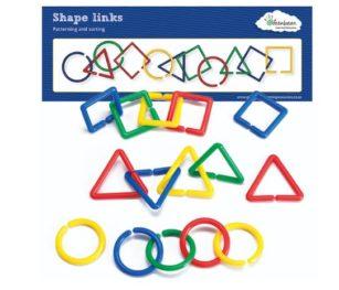 Shape Link Activity Set (100pcs & Cards)