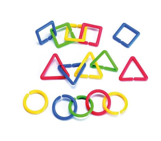 Shape Links 100pc Polybag