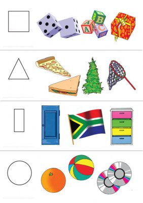 Shapes Poster Rgs Stp15