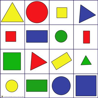 Shapes And Colours Mat