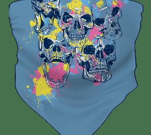 Skulls Colourful