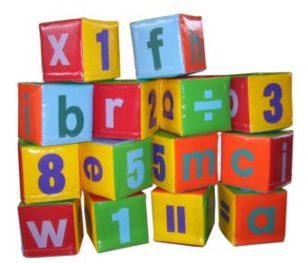 Soft Play Abc Blocks (14pc)