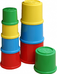 Stacking Cups set RSG ST