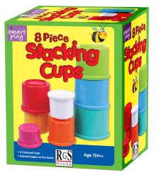 Stacking Cups in Box RGS STB