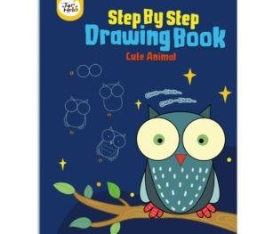 Step By Step Drawing Book Cute Animals