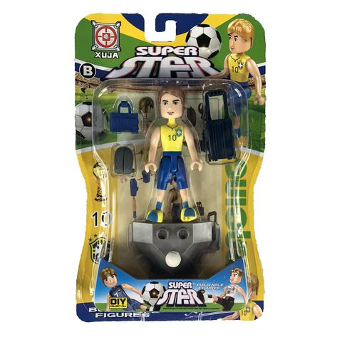 Super Star Soccer Action Figure