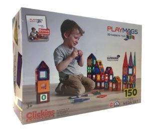T pce PlayMags Magnetic Tiles Megaset R.