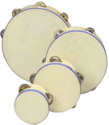 Tambourine 8 Inch With 5 Bells Rgs10801